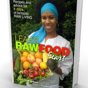 Leah's Raw Food Feast – Raw Food Recipe Book