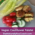 Vegan Cauliflower Falafel Recipe
