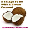 3 Things To Do With A Mature Brown Coconut