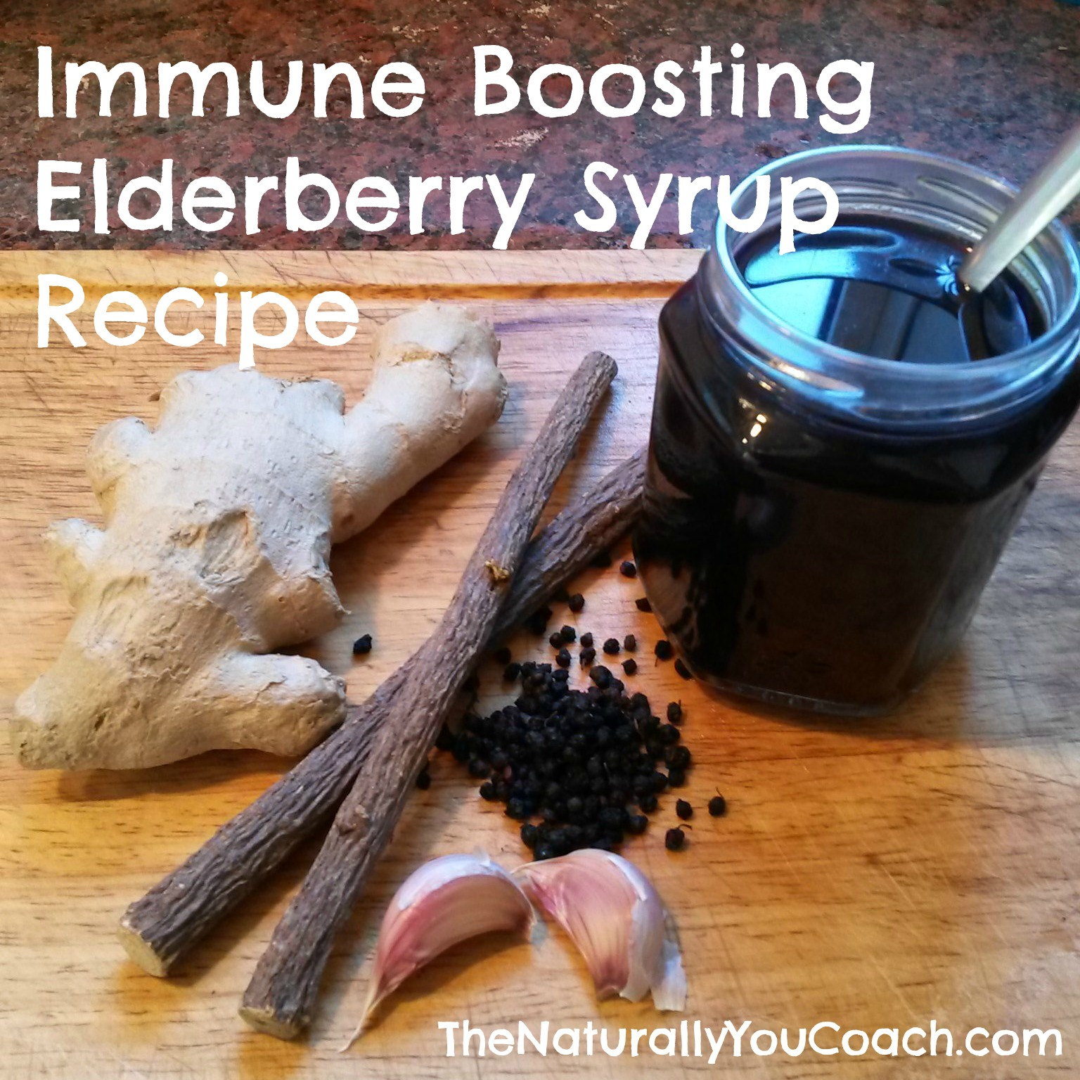 Immune Boosting Elderberry Syrup Recipe
