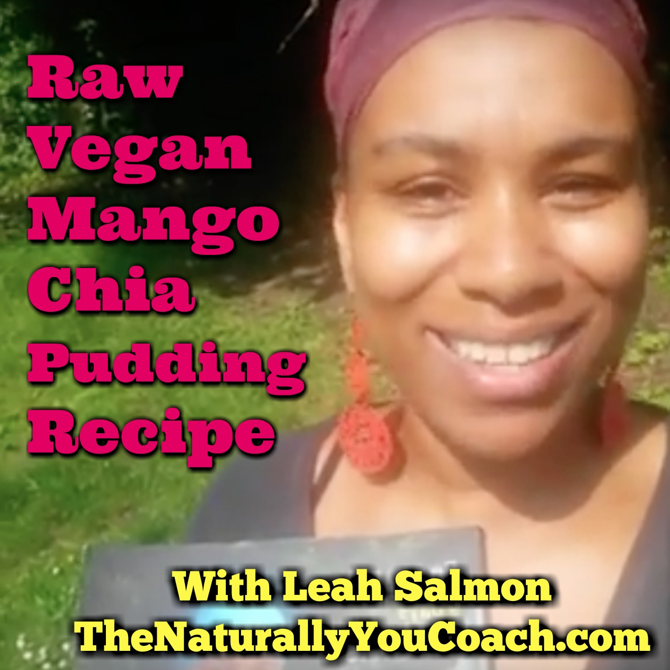 Raw Vegan Mango Chia Pudding (Video)