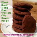 Wheat Egg and Sugar Free Chocolate Chip Cookie Recipe