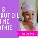 Hemp & Coconut Oil Morning Smoothie