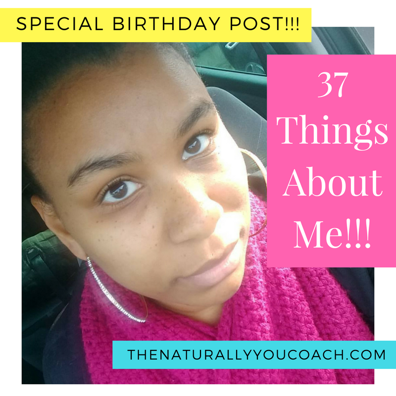 37 Things About Me Birthday Special