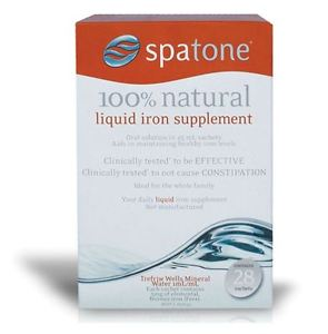 Spatone Iron Plus One-a-Day Sachets (28 Days)