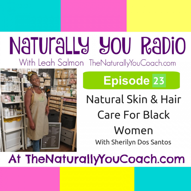 Natural Skin and Hair Care For Black Women #NYR23