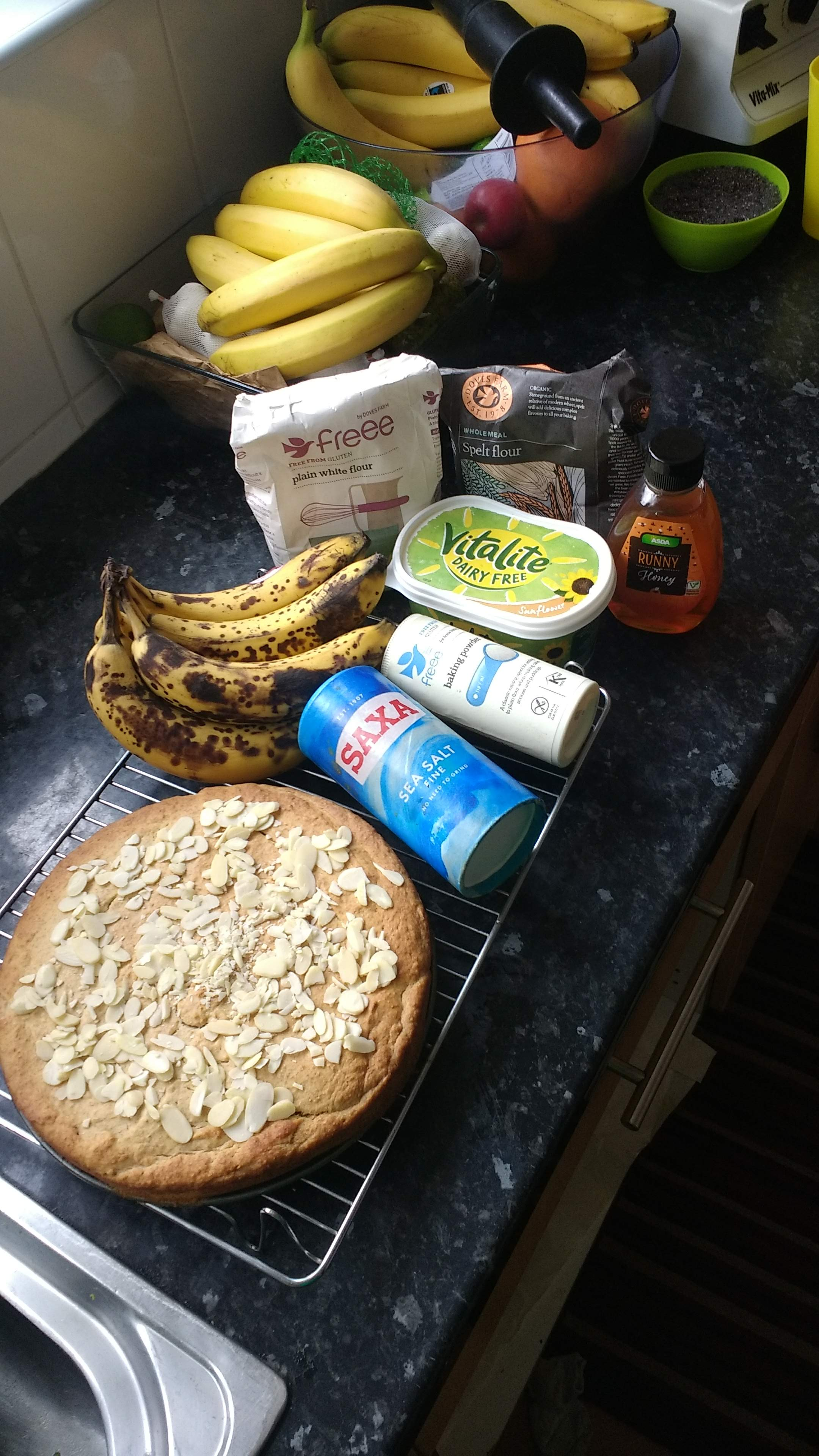 Simple Vegan Banana Cake Recipe