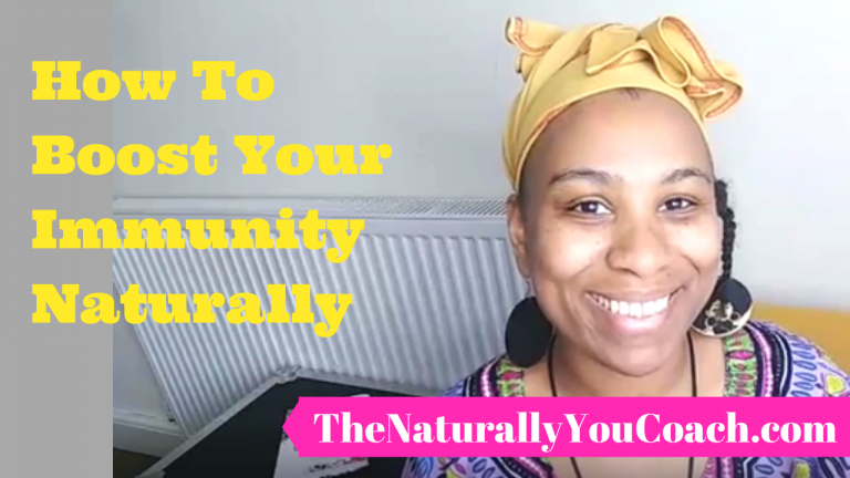 How to boost your immunity naturally (Video)