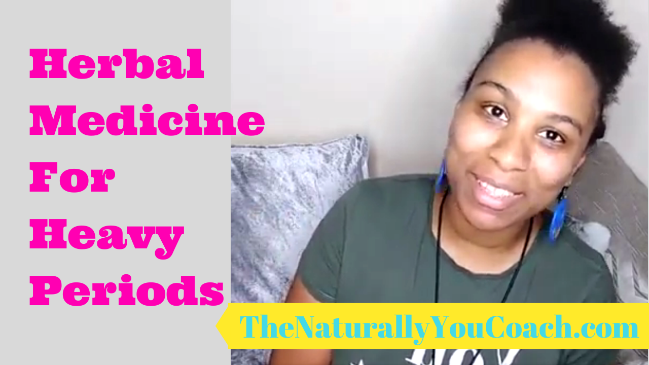 Herbal Medicine For Heavy Periods (video)