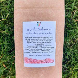 Womb Balance Herbal Blend 60 Capsules