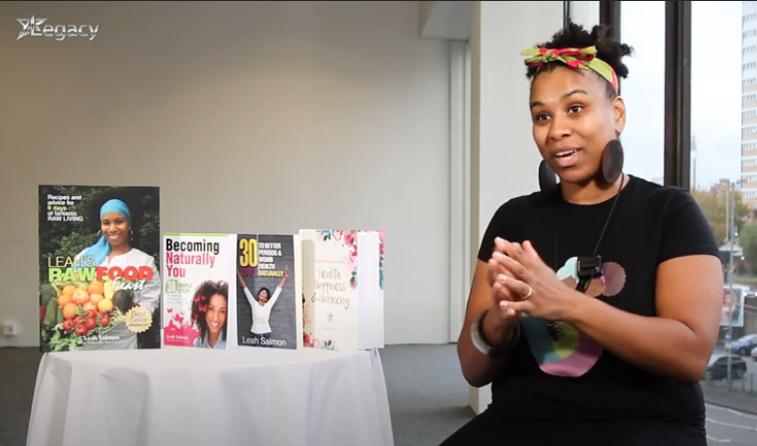 Leah Salmon speaks on holistic health – Legacy TV